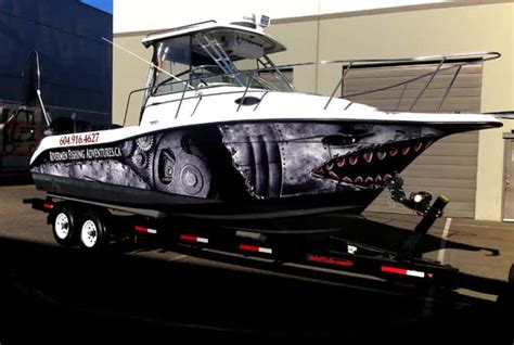 vinyl boat wraps boat graphics wrap guys blog - Speed Boat Vinyl Wrap