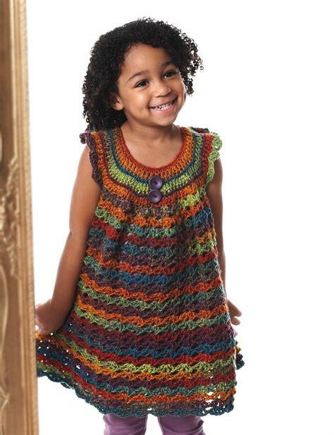 free pattern pinafore dress girl s lace pinafore yarn free knitting patterns