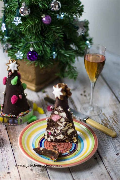 chocolate rocky road christmas trees my kitchen stories