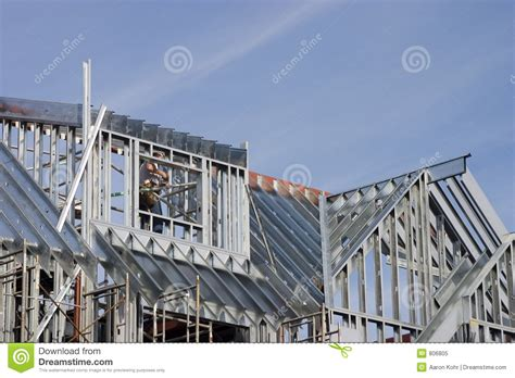 house construction royalty free stock images image 2957369 metal house construction royalty free stock photo image
