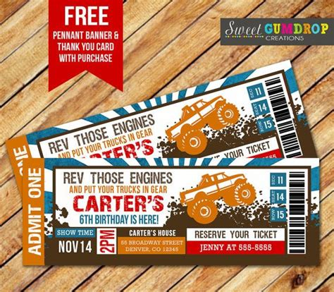 truck tickets 17 best ideas about truck tickets on
