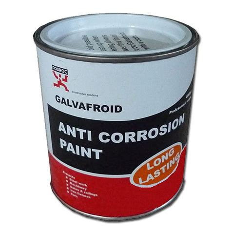 Painting Zinc by Galvafroid Zinc Rich Galvanising Paint In Various Sizes