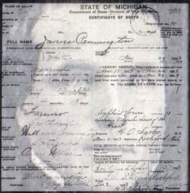 State Of Michigan Records Finding Missing Michigan Birth Or Records Michigan Genealogy Pro