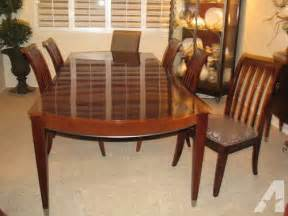 Ethan Allen Dining Room Sets For Sale by Ethan Allen Quot Avenue Quot Dining Room Table And Chairs W