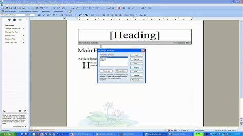 wordperfect templates working with wordperfect templates youtube