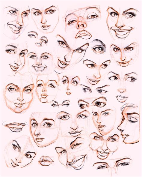 Drawing Expressions by S Faces By Jonigodoy On Deviantart