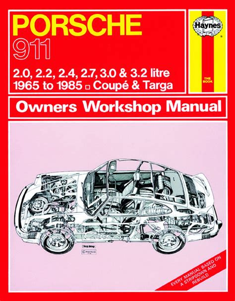 haynes manual porsche 911 1965 1985 up to c