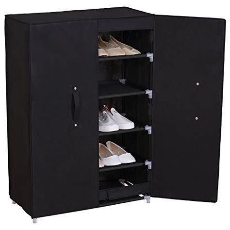 shoe storage with cover woltu 6 tiers portable shoe rack with dustproof cover