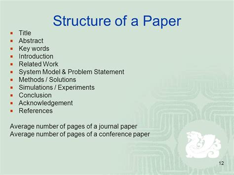 thesis abstract number of words how to write good research articles ppt video online