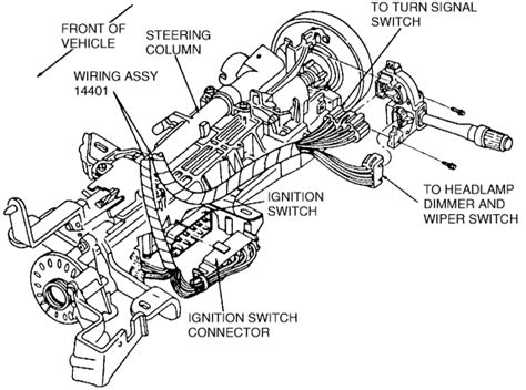 electric power steering 1992 mercury sable engine control how do i replace an ignition switch assembly on a 1993 ford taurus