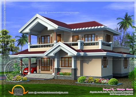 kerala home design august 2014 kerala style villa plan in 1850 square feet home kerala