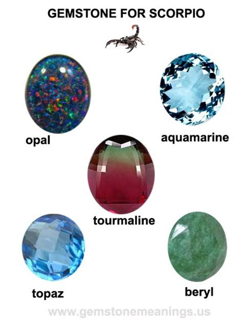 gemstone for scorpio the lucky scorpio gemstone