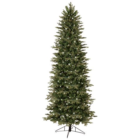 general electric 7 5 pre lit just cut aspen fir tree with