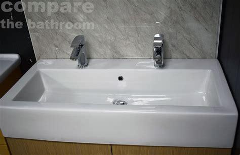 extra deep bathroom sink slab basin extra deep bathroom sink 2 tap hole his hers