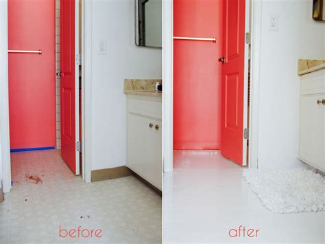 painting bathroom tiles before and after a bathroom tile makeover with paint ramshackle glam