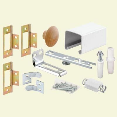 Bifold Closet Door Track Hardware by Prime Line 30 In Bi Fold Closet Door Track Kit 164685
