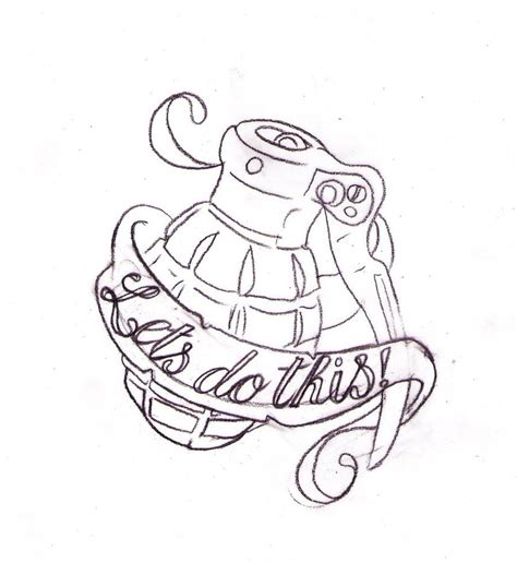 call of duty tattoo call of duty grenade by nevermore ink on deviantart