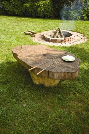 rustic home decor tree stump table do it yourself