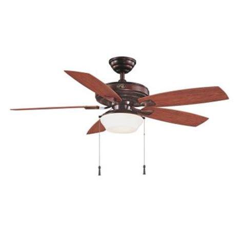 hton bay gazebo ceiling fan hton bay gazebo ii 52 in weathered bronze indoor
