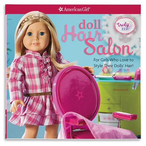 American Hairstyle Book by American Doll Hair Salon American Truly Me Doll