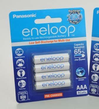 Baterai Rechargeable Aa Panasonic Eneloo Kode Tr4617 eneloop a2 dan a3 baterai battery senter flashlight charger eneloop sanyo imedion