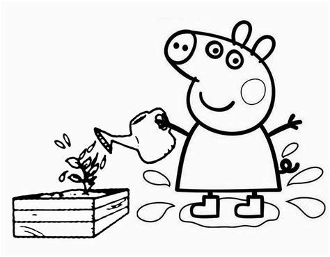 nick jr coloring book peppa pig coloring page to print