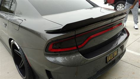 dodge charger with wing 11 17 dodge srt charger spoilers