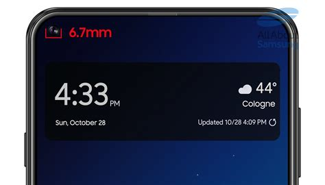samsung galaxy a8s cut out reveals what s coming with the samsung galaxy s10 mspoweruser