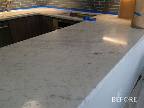 Scratches On Granite Countertop by Marble Countertop Polishing San Diego