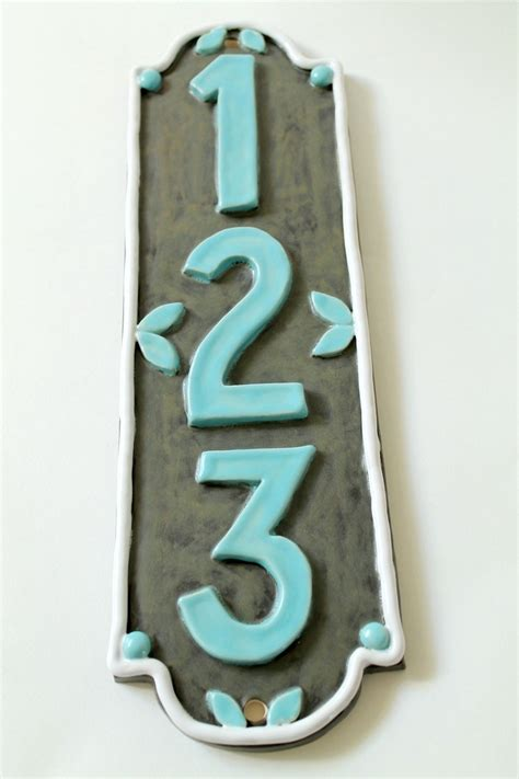ceramic house numbers 17 of 2017 s best ceramic house numbers ideas on pinterest