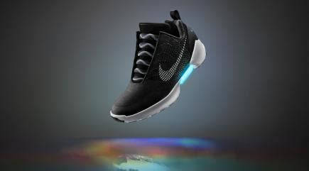 marty mcfly trainers marty mcfly s self lacing nike trainers from back to the