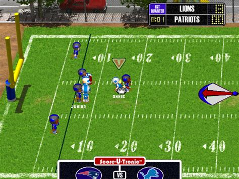 nfl backyard football nfl backyard football cartoon nfl pictures funny images