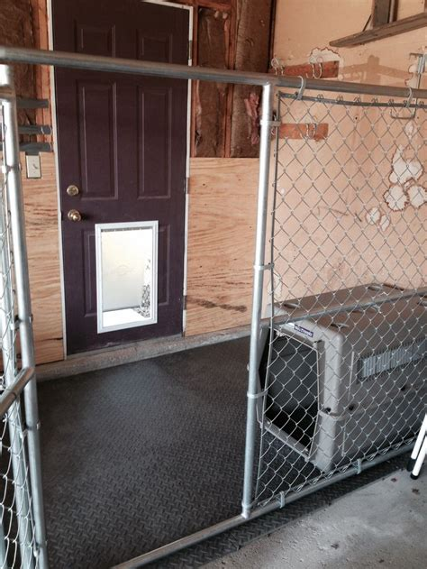 Dog Kennel In Garage | indoor dog kennel for the dogs pinterest