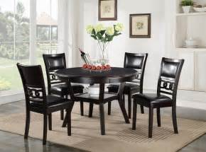 50s Dining Table And Chairs New Classic Dining Table And Chair Set With 4 Chairs And Circle Motif Lapeer Furniture