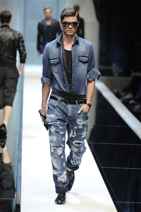 casey in dolce gabbana milan mens fashion week