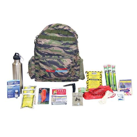 1 Person 3 4 Day Emergency Survival Kit Bug Out Bag 72 Hour Bla Ready America 4 Person 3 Day Deluxe Emergency Kit With