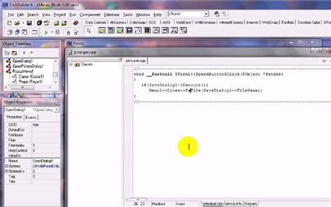 delphi language tutorial pdf 9 ventanas de dialogo opendialog savedialog y