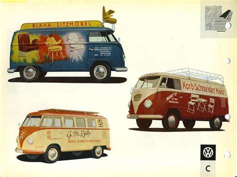van volkswagen vintage the vintage vw van presented in dealer book glory
