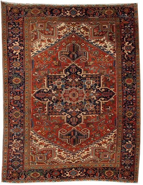 What To Do With Old Rugs by Old Heriz Persian Rug Authentic Persian Carpet 7x9 Ebay