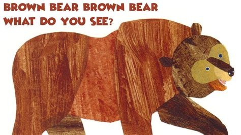 brown bear brown bear what do you see read aloud youtube
