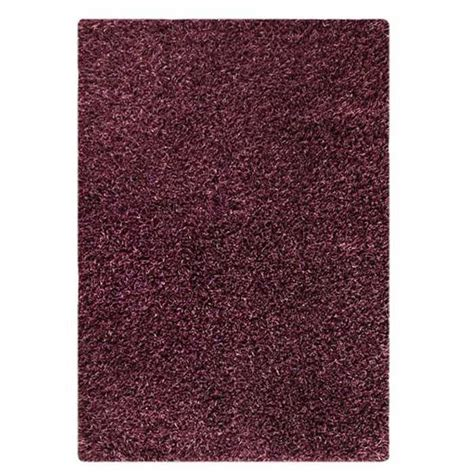 polyester shaggy rug evonne woven polyester shaggy rug in purple dcg stores