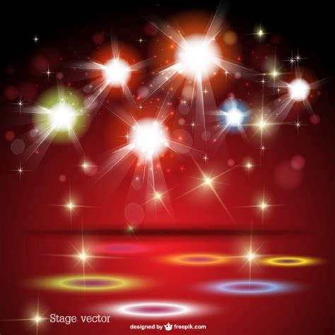free stage background design vector free lights stage background vector free download
