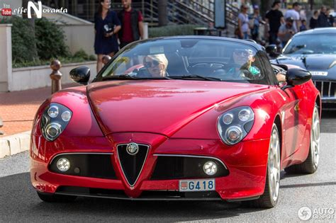 alfa romeo spider 2017 alfa romeo 8c spider 13 january 2017 autogespot