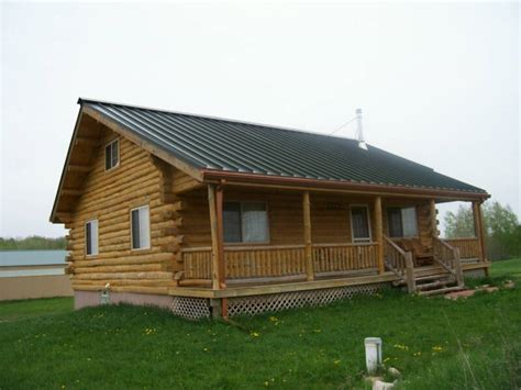 Model Home S Page 3 600 Square Foot Log Cabin Kits