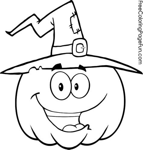 happy pumpkin coloring pages free halloween coloring pages happy pumpkins