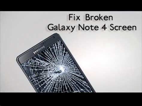 replace  broken samsung galaxy note  screen