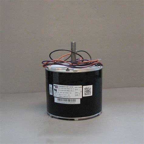 trane condenser fan motor trane condenser fan motor mot16278 mot16278 187 00
