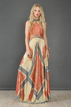 maxi stripe narnia pleated striped maxi dress from the 70s the