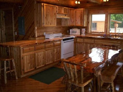 Custom Rustic Kitchen Cabinets Crafted Custom Rustic Cedar Kitchen Cabinets By King Of The Forest Furniture Custommade