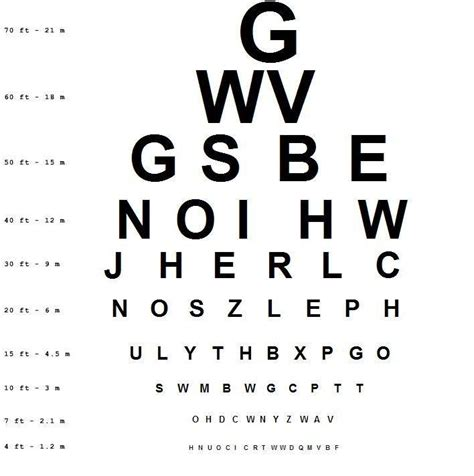 printable ca dmv eye chart dmv eye test chart distance pictures to pin on pinterest